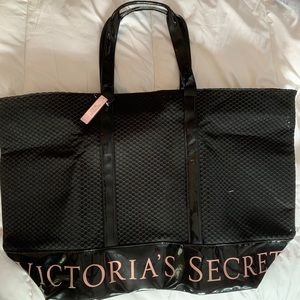 Victoria Secret Black Tote Bag